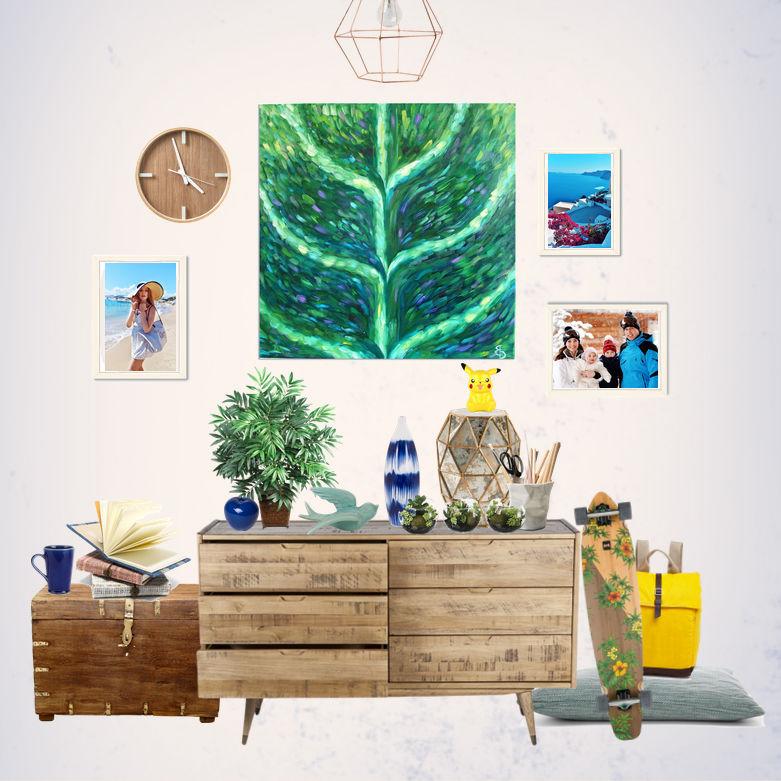 вусту, картина, картина маслом, картина на холсте, картина в подарок, картина для интерьера, интерьерная картина, стильная картина, модная картина, зелёный, зелень, природа, деньги, изобилие, живопись, живопись маслом, зелёный цвет, современная живопись, современное искусство, современная картина