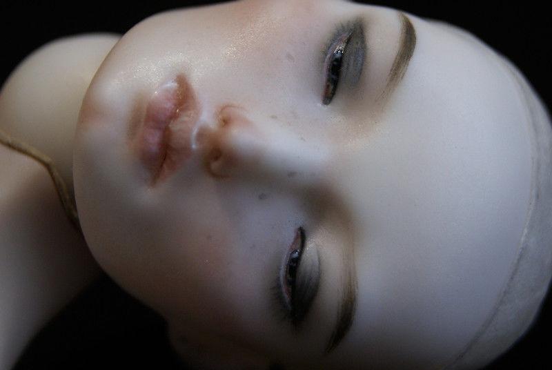 шарнирная кукла, фарфор