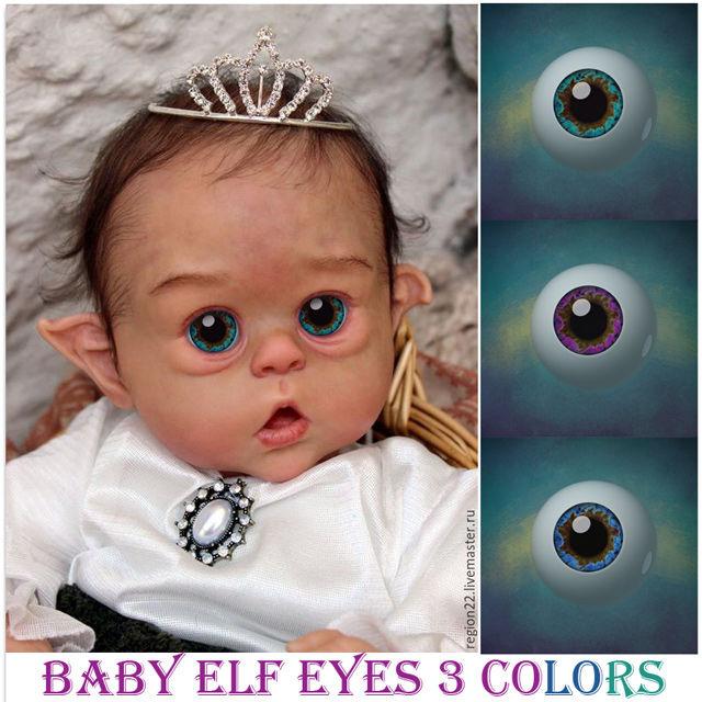 эльф, глаза куклам