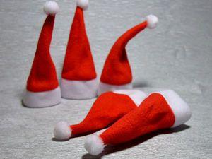 Уважаемые покупатели! В продаже появились декоративные новогодние колпачки | Ярмарка Мастеров - ручная работа, handmade