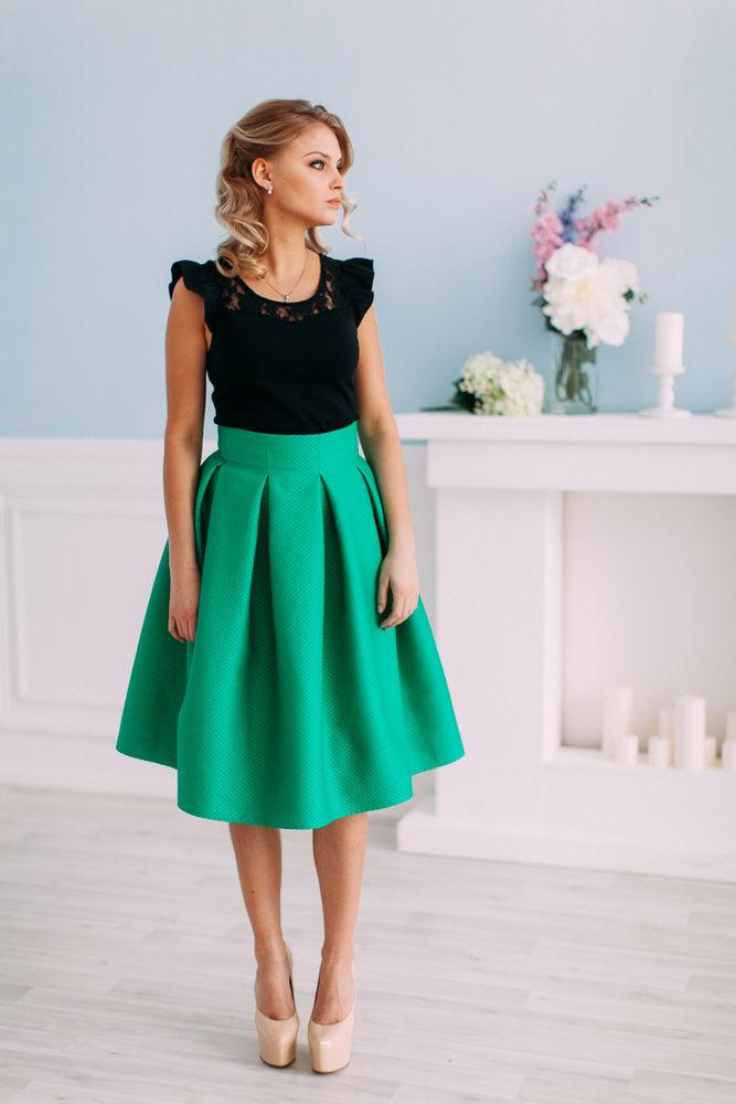 юбка в складку, юбка мини, красивая юбка