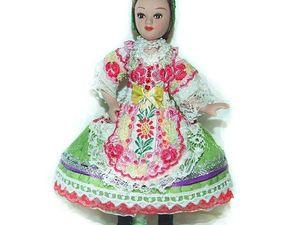 Венгерка — моя новая кукла, особенности венгерского костюма. Ярмарка Мастеров - ручная работа, handmade.