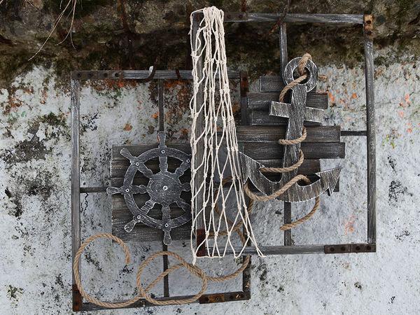Якорь и Штурвал.Лофт (дополнительные фото) | Ярмарка Мастеров - ручная работа, handmade