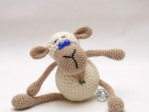Очаровательная овечка Буся. Ярмарка Мастеров - ручная работа, handmade.