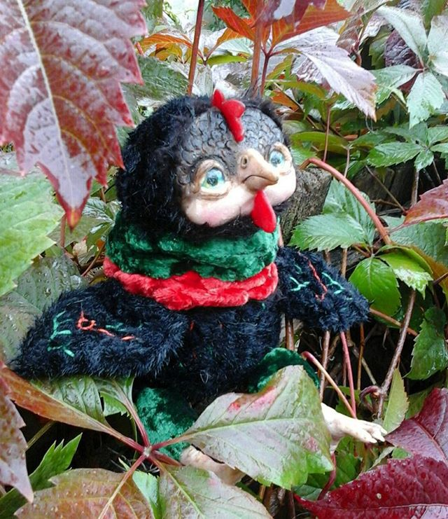 осень, осенние листья, интерьерная игрушка, ливингдолл