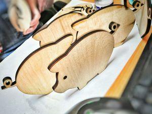 Деревянные фигурки. Ярмарка Мастеров - ручная работа, handmade.