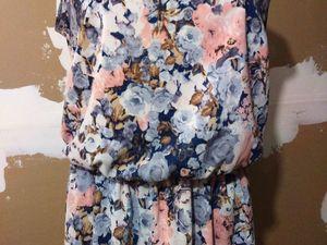 Мастер-класс: шьём платье из французского шифона на подкладе. Ярмарка Мастеров - ручная работа, handmade.