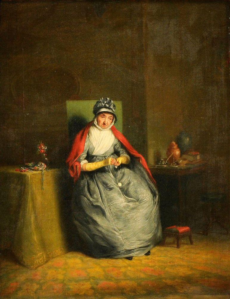 Когда есть чем заняться — стареть некогда: душевные картины о бабушках-рукодельницах, фото № 30