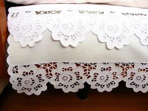 Подзор для кровати.. Ярмарка Мастеров - ручная работа, handmade.