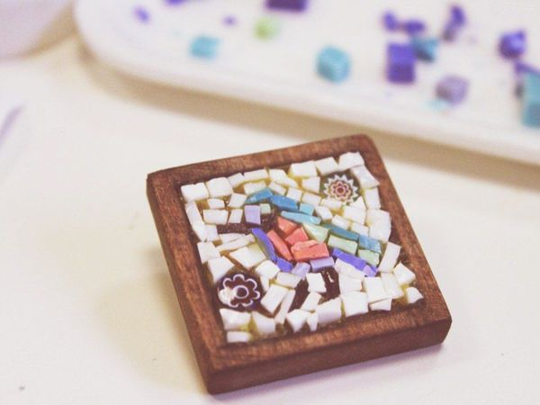 Мастер-класс. Микромозаика в украшениях   Ярмарка Мастеров - ручная работа, handmade