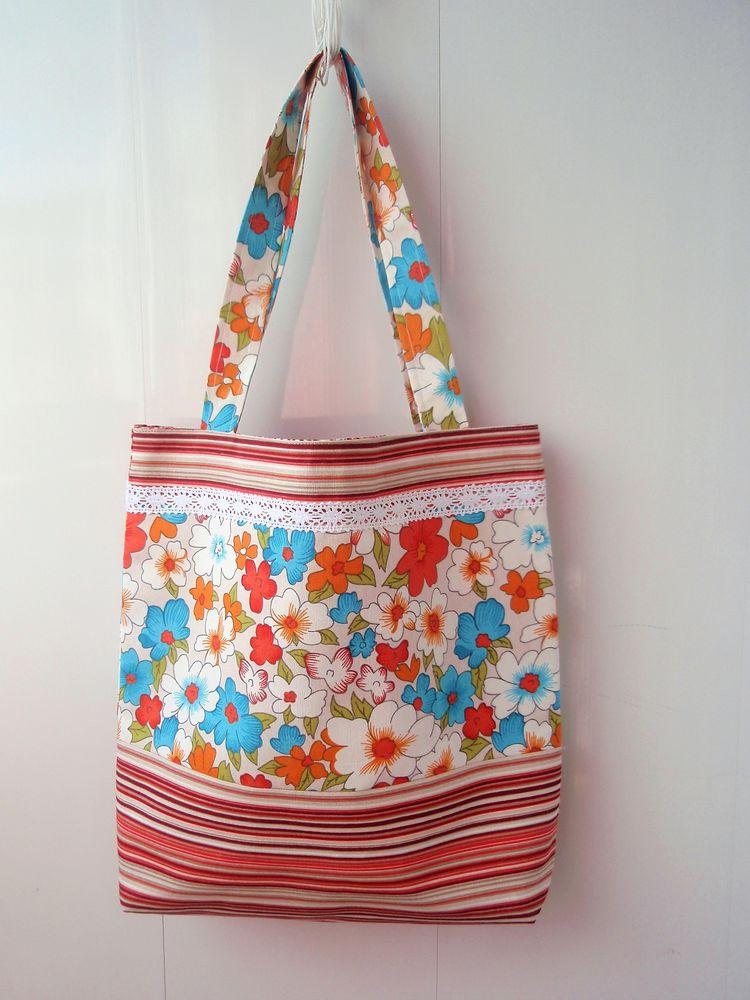 пляж, льняная сумка
