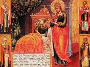 """1 октября, празднование иконы Пресвятой Богородицы """"Целительница"""". Ярмарка Мастеров - ручная работа, handmade."""