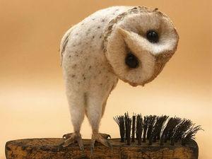 16 милых зверят на кончике щетки, или Идея для валяния от Simon Brown. Ярмарка Мастеров - ручная работа, handmade.