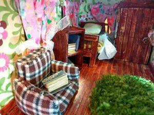 Делаем милое кукольное кресло. Ярмарка Мастеров - ручная работа, handmade.