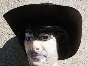 Моя первая кожаная шляпа). Ярмарка Мастеров - ручная работа, handmade.