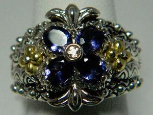 Морганит, иолит и пейнит: редкие камни в ювелирных украшениях. Ярмарка Мастеров - ручная работа, handmade.