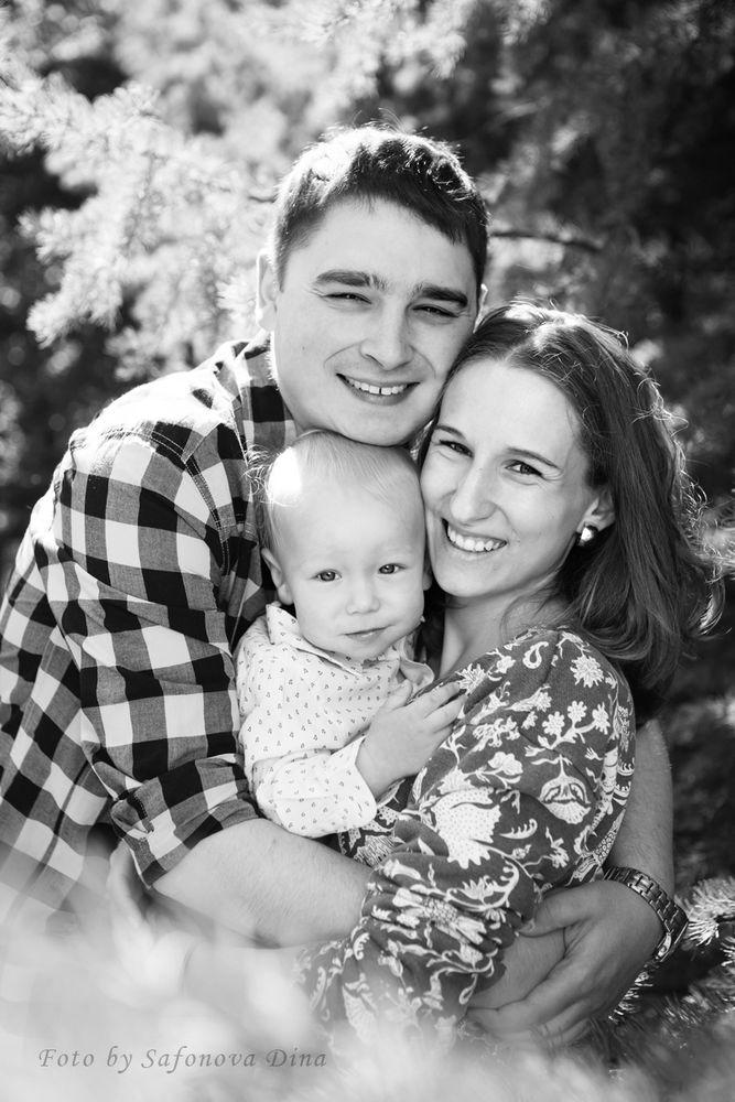 семейная фотография, деньрождения