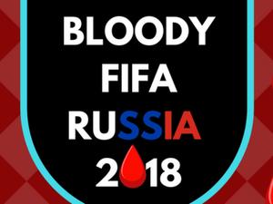Bloody FIFA- попытка достучаться. Ярмарка Мастеров - ручная работа, handmade.