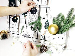 Адвент-календарь для малышей. Ярмарка Мастеров - ручная работа, handmade.