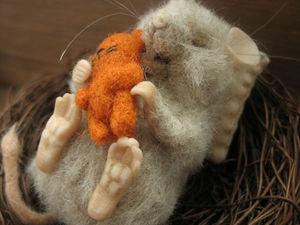 Мышиный летний вечер | Ярмарка Мастеров - ручная работа, handmade