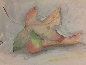 Осенний лист. Ярмарка Мастеров - ручная работа, handmade.