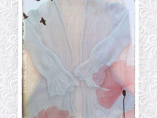 Новая модель Вязаные кофта и шарф Нежность | Ярмарка Мастеров - ручная работа, handmade