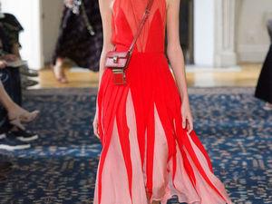 Невероятно яркая и по-весеннему нежная коллекция Valentino весна-лето 2017. Ярмарка Мастеров - ручная работа, handmade.