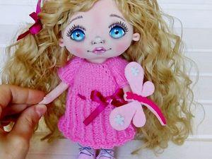 Уроки вязания: мастерим платье для куклы. Ярмарка Мастеров - ручная работа, handmade.