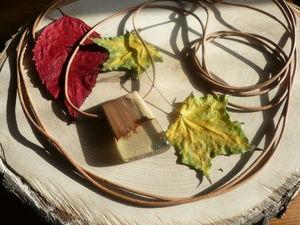 "Кулон ""Осень"". Ярмарка Мастеров - ручная работа, handmade."
