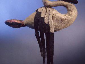 Войлочный лебедь V-IV вв. до н.э. | Ярмарка Мастеров - ручная работа, handmade