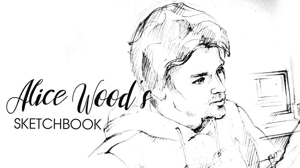 alice wood, sketchbook, скетчбук, как нарисовать