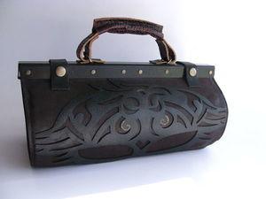 Аукцион на кожаный саквояж!. Ярмарка Мастеров - ручная работа, handmade.