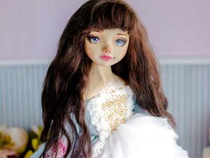 Манон авторская кукла, интерьерная коллекционная кукла, подарок. Ярмарка Мастеров - ручная работа, handmade.