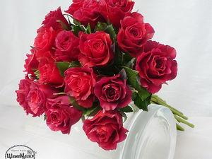 Бархатные розы к ногам любимой!!!. Ярмарка Мастеров - ручная работа, handmade.