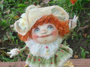 Как сшить каркасную текстильную куколку в смешанной технике. Ярмарка Мастеров - ручная работа, handmade.
