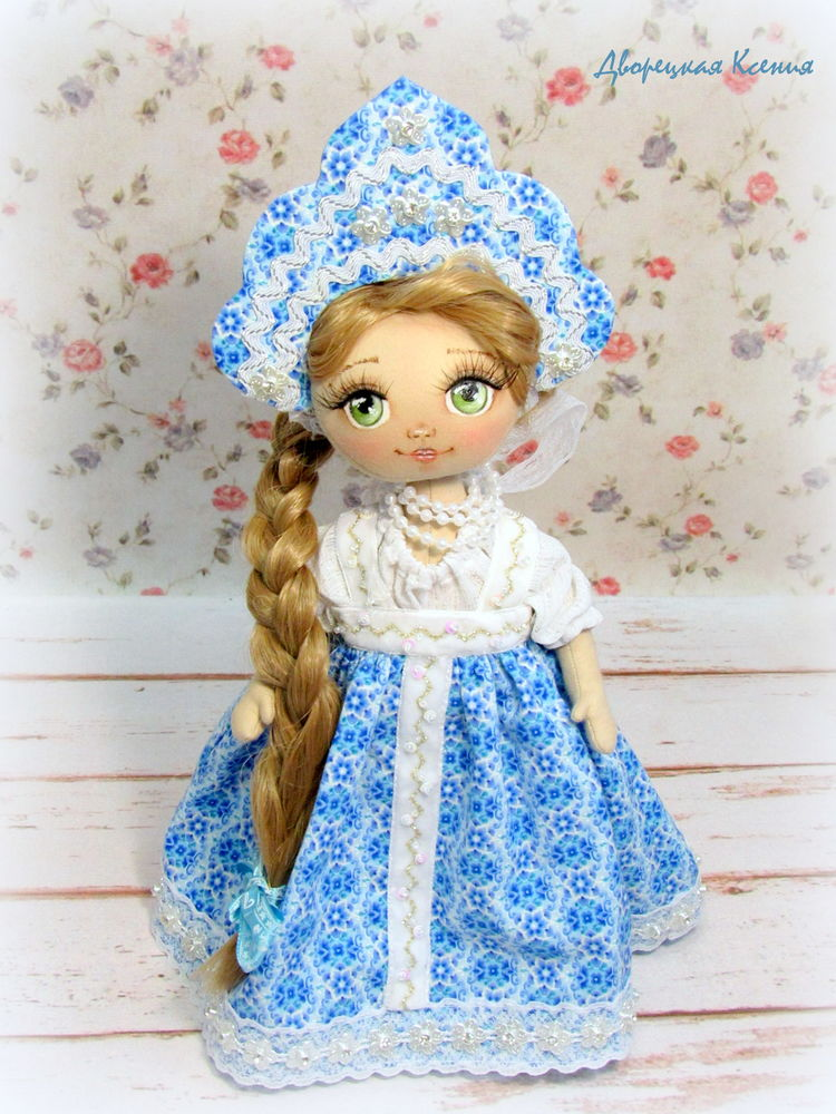 русская кукла
