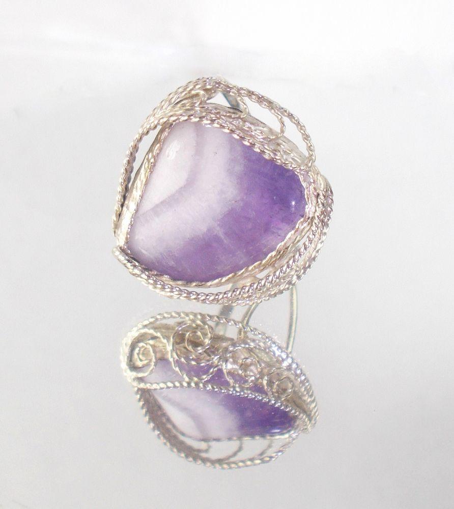 узорное кольцо аметист, кольцо натуральн аметист