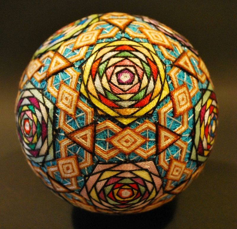 шары-тэмари, украшение, подарок