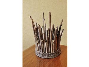 Создаем светильник-корону своими руками. Ярмарка Мастеров - ручная работа, handmade.