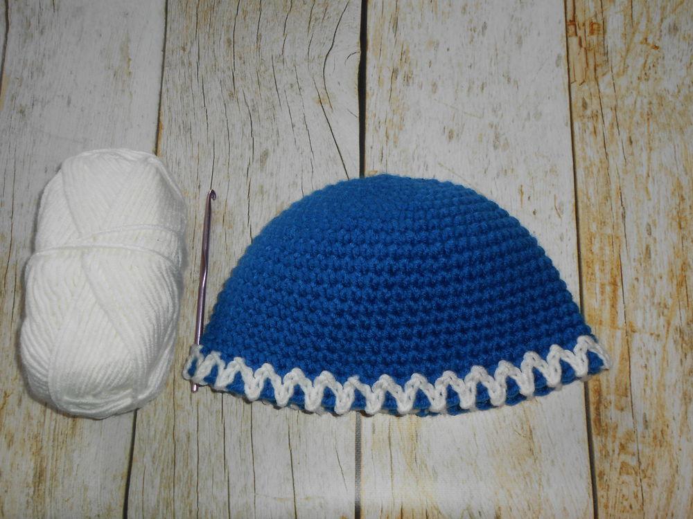 вяжем шапку
