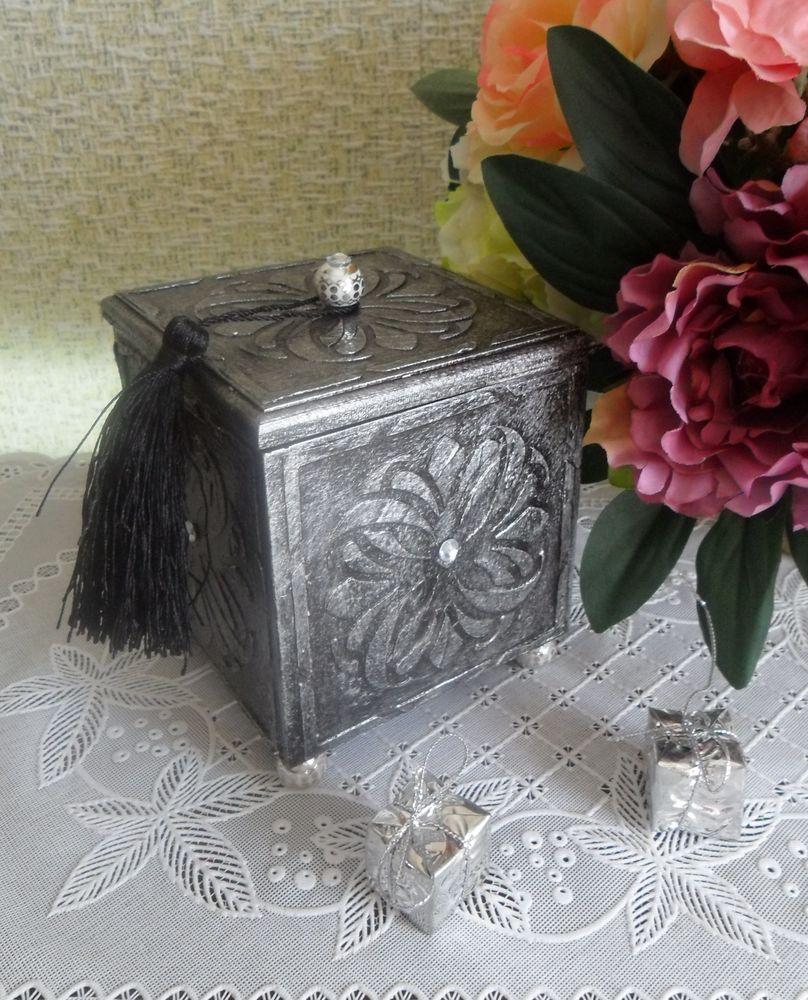 коллекция работ, шкатулка деревянная