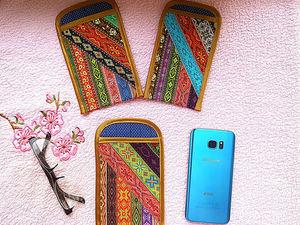 Универсальный чехол для мобильного телефона или очков. Ярмарка Мастеров - ручная работа, handmade.