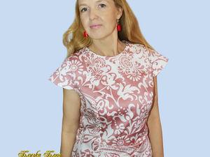 Аукцион на летнее платье!Старт 1000 рублей. Ярмарка Мастеров - ручная работа, handmade.