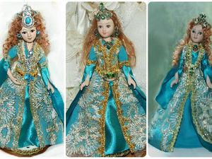 Мои куклы в костюме Хюррем (Великолепный век). Ярмарка Мастеров - ручная работа, handmade.