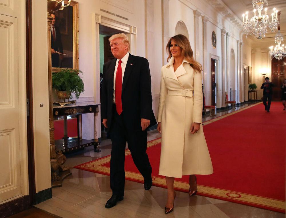 Безупречный стиль первой леди США Мелании Трамп, фото № 13