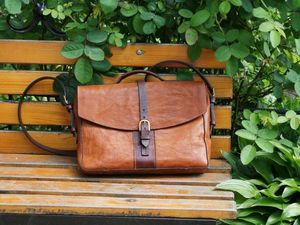 Сумка-портфель на заказ | Ярмарка Мастеров - ручная работа, handmade