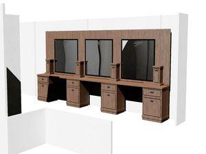 Барбершоп под ключ. Мебель для барбершопа. | Ярмарка Мастеров - ручная работа, handmade