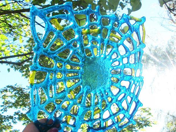 Создаем подсвечник из цветного стекла в технике фьюзинг. Часть первая | Ярмарка Мастеров - ручная работа, handmade