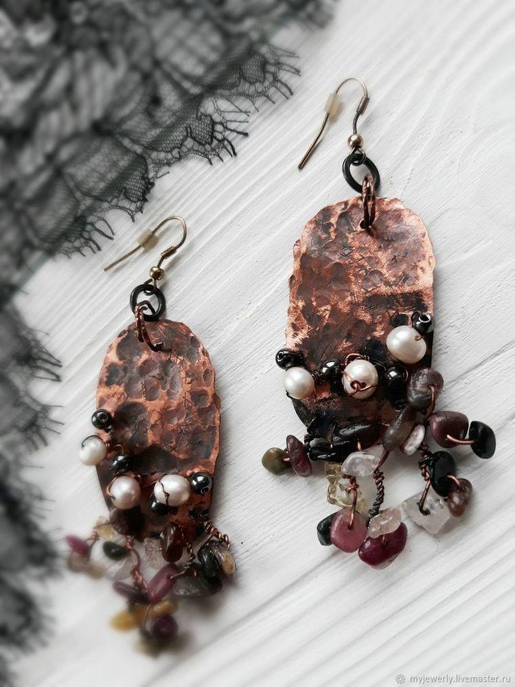 Авторские украшения из натуральных камней  и жемчуга своими руками, фото № 18