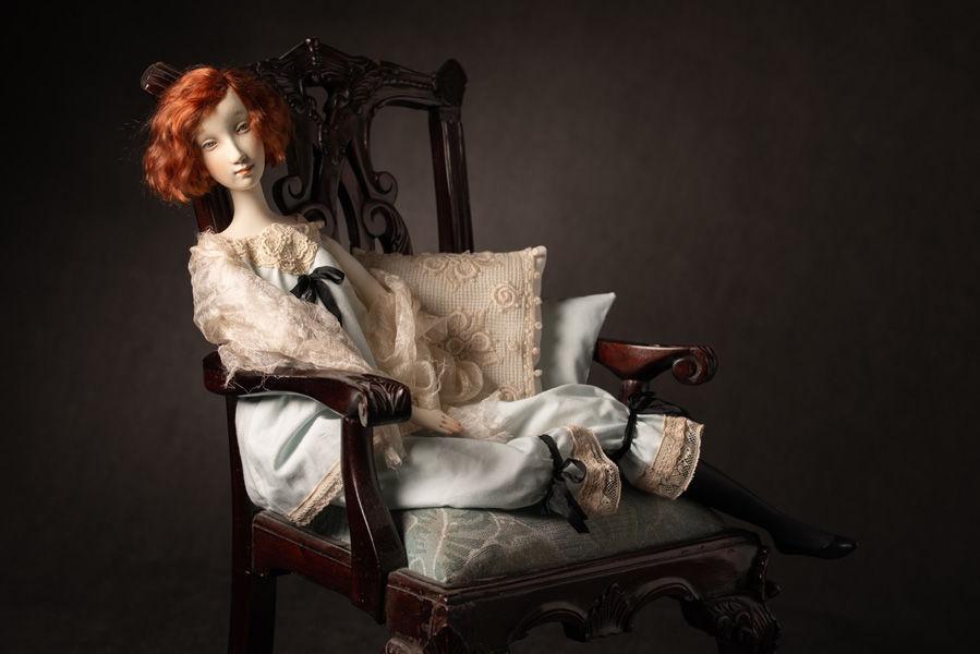 кукла, купить куклу, обучение, кукла своими руками, неглиже